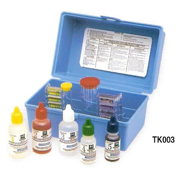 Water Test Kit Complete Set 6 Swimming Pool Water Test Kit Swimming Pool Chemicals Tasik
